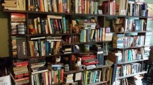 My bookshelves.