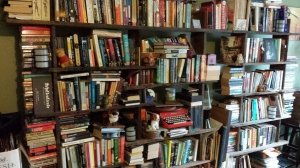 My bookshelves.